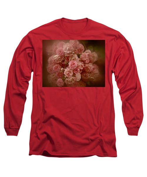 Long Sleeve T-Shirt featuring the photograph Beautiful Roses 2016 No. 3 by Richard Cummings