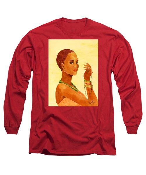 Beauty Stance Long Sleeve T-Shirt