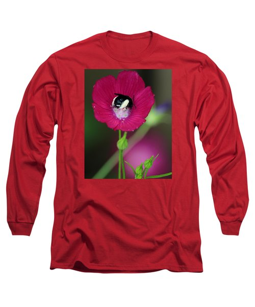 Long Sleeve T-Shirt featuring the photograph Bee My Guest by Elizabeth Sullivan