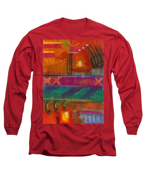 Being In Love Long Sleeve T-Shirt by Angela L Walker