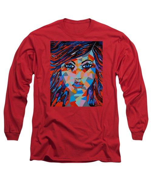 Long Sleeve T-Shirt featuring the painting Bella by Kathleen Sartoris