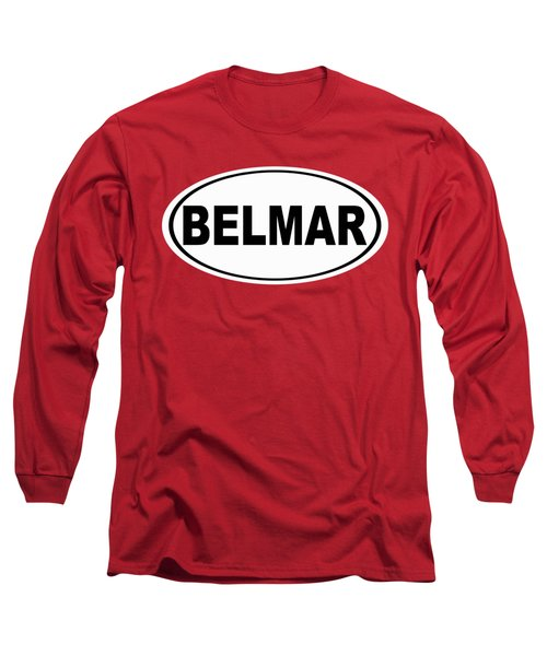 Long Sleeve T-Shirt featuring the photograph Belmar New Jersey Home Pride by Keith Webber Jr