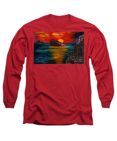 Benidorm Long Sleeve T-Shirt by Jeepee Aero