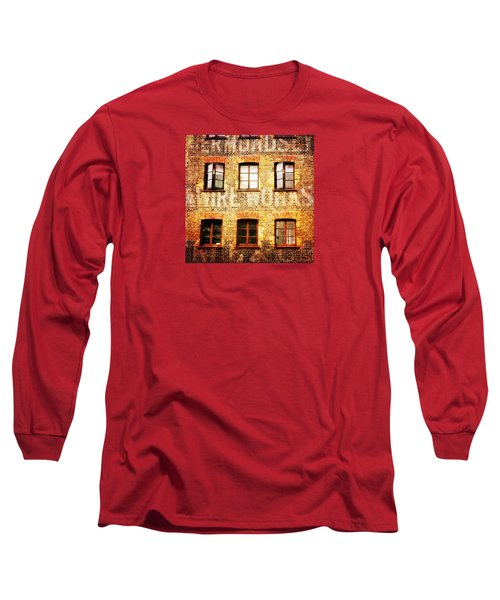 Long Sleeve T-Shirt featuring the photograph Bermondsey Mesh And Wire Works by Anne Kotan