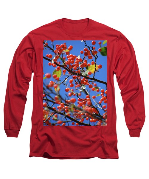 Berry Bunches Long Sleeve T-Shirt