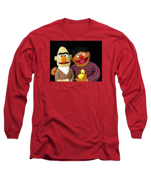 Bert And Ernie Long Sleeve T-Shirt