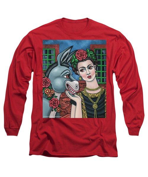 Beso Or Fridas Kisses Long Sleeve T-Shirt