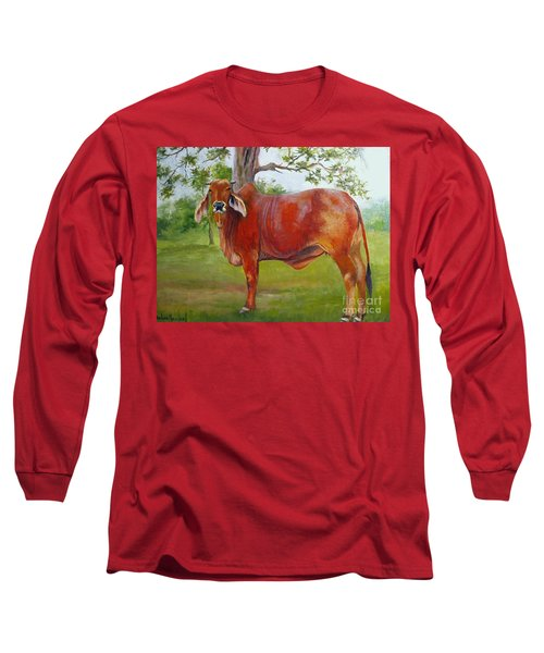 Bessie The Brahama Long Sleeve T-Shirt