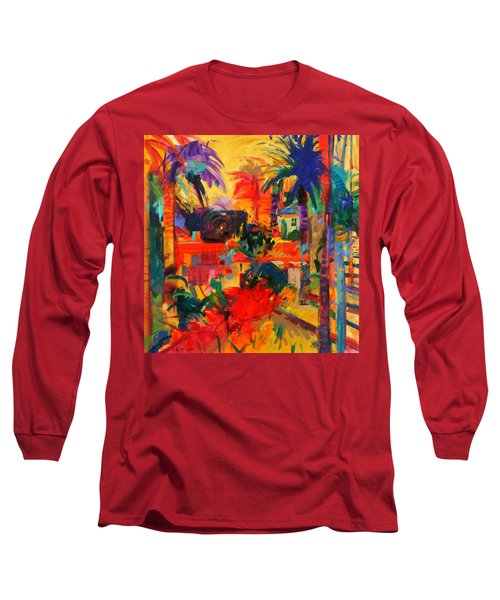 Beverly Hills Long Sleeve T-Shirt by Peter Graham