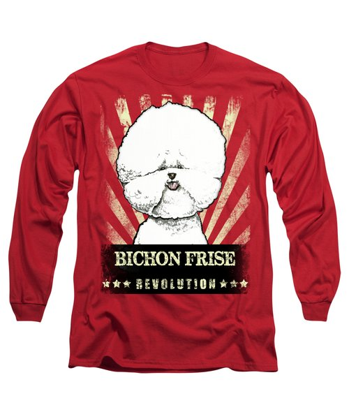 Bichon Frise Revolution Long Sleeve T-Shirt