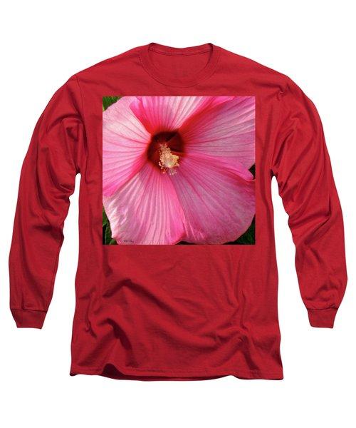 Big Pink Love Long Sleeve T-Shirt