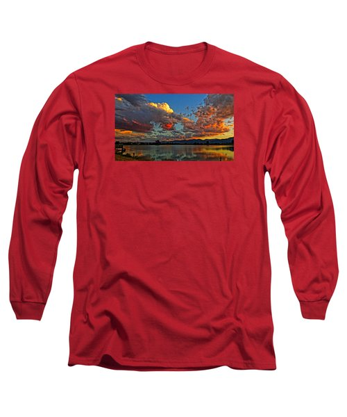 Big Sky Long Sleeve T-Shirt by Eric Dee