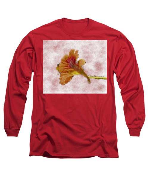 Bindweed Paiterly 1.  Long Sleeve T-Shirt by Leif Sohlman