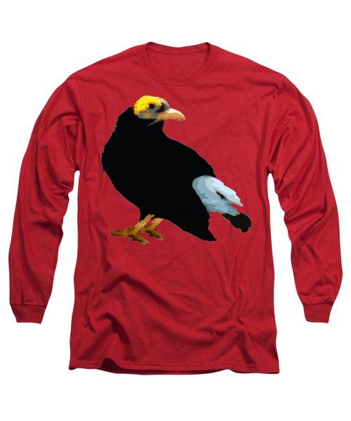 Bird Art Long Sleeve T-Shirt