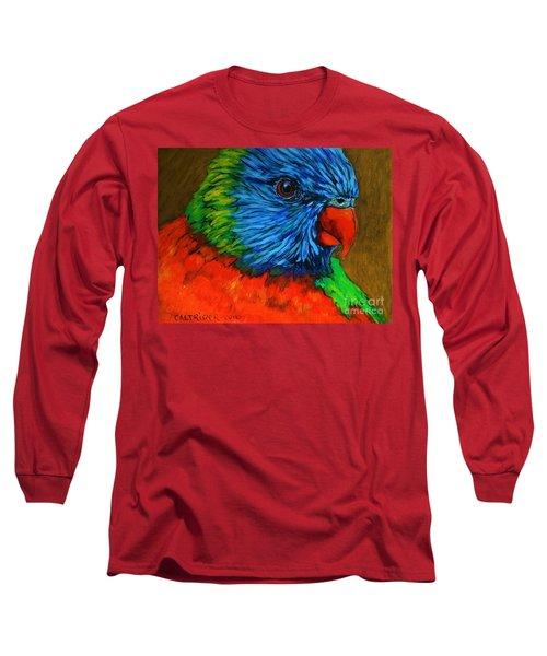 Birdie Birdie Long Sleeve T-Shirt by Alison Caltrider