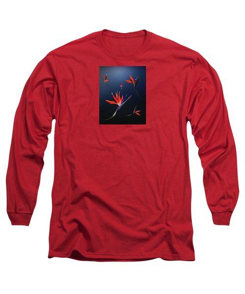 Birds Of Paradise Long Sleeve T-Shirt