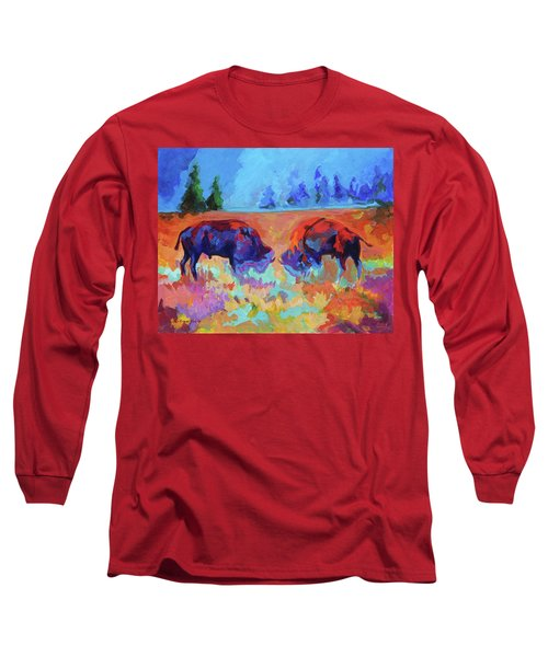 Bison Contest Long Sleeve T-Shirt