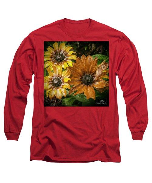 Black Eyed Susan Long Sleeve T-Shirt