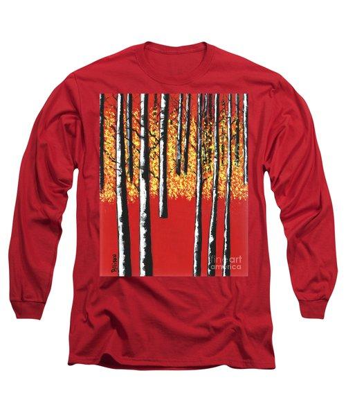 Blazing Birches Long Sleeve T-Shirt