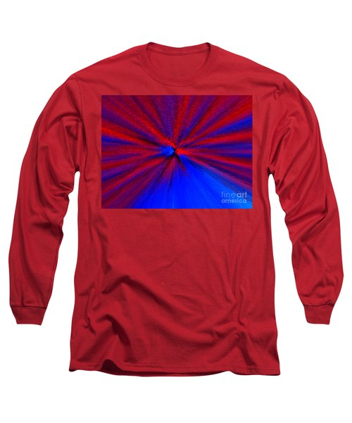 Long Sleeve T-Shirt featuring the photograph Block Zoom by Trena Mara