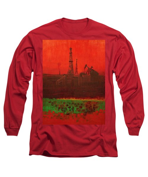 Blood Of Mother Earth Long Sleeve T-Shirt
