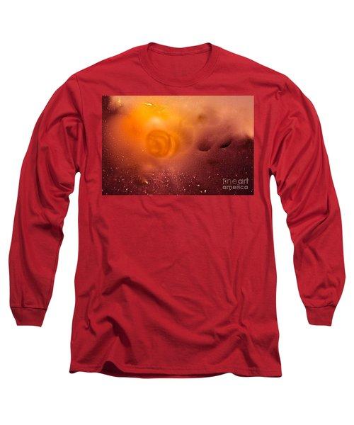 Blood Sun Long Sleeve T-Shirt by Patricia Schneider Mitchell