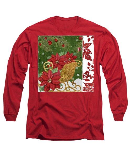 Blooming Christmas I Long Sleeve T-Shirt