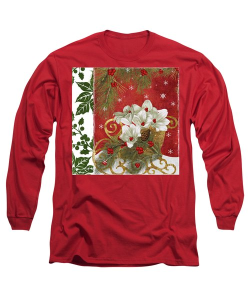 Blooming Christmas II Long Sleeve T-Shirt