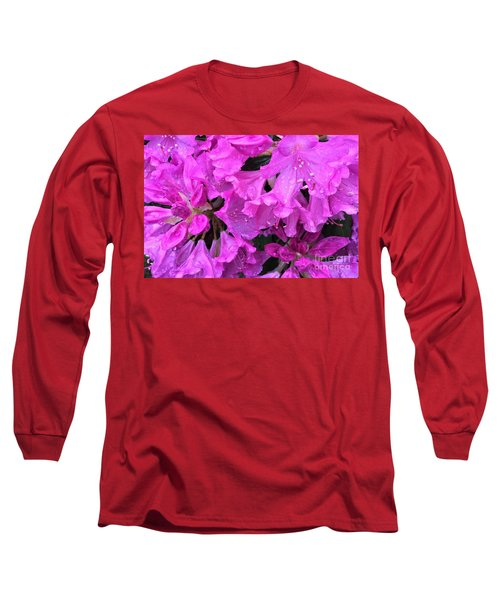 Blooming Rhododendron Long Sleeve T-Shirt