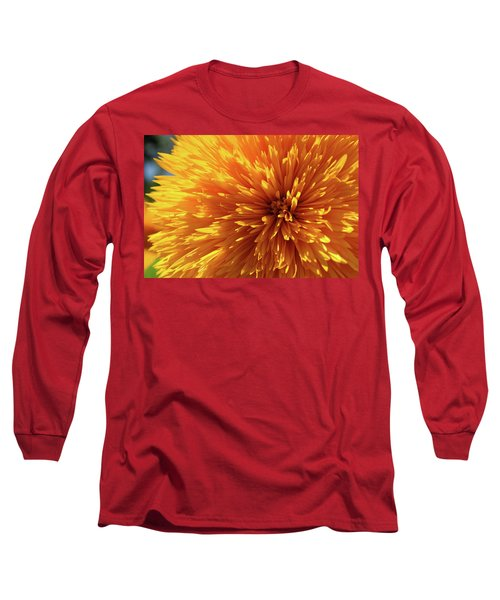 Long Sleeve T-Shirt featuring the photograph Blooming Sunshine by Marie Leslie