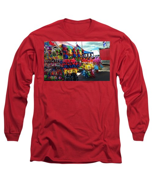 Blowed Up Long Sleeve T-Shirt by Steve Sperry