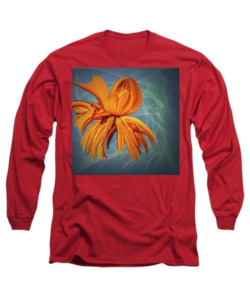 Blue And Yellow #h6 Long Sleeve T-Shirt