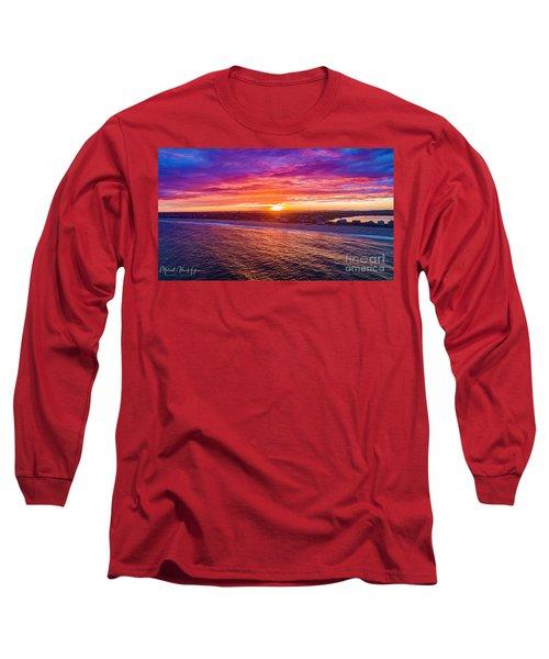 Blue Shutter East Beach Long Sleeve T-Shirt