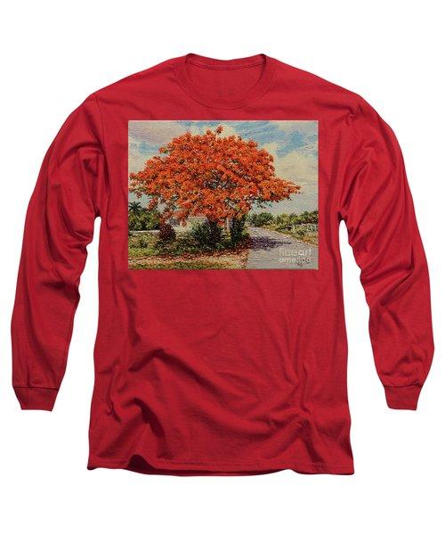 Bluff Poinciana Long Sleeve T-Shirt