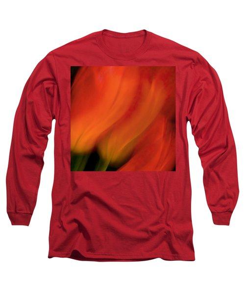 Blur De Lis Long Sleeve T-Shirt