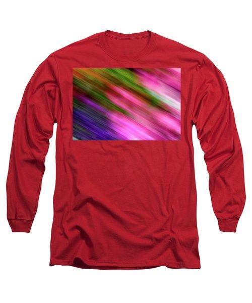 Blurred #6 Long Sleeve T-Shirt