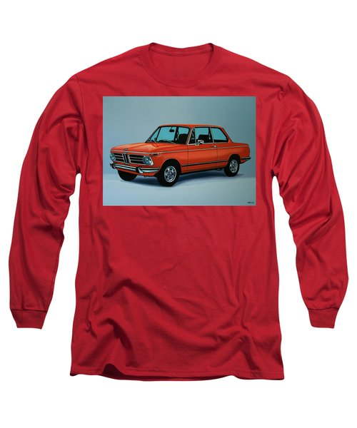 Bmw 2002 1968 Painting Long Sleeve T-Shirt