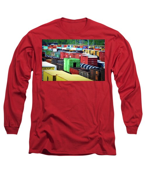 Bnsf Lindenwood Yard Long Sleeve T-Shirt