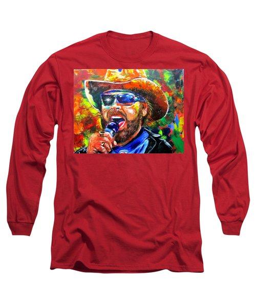 Bocephus Long Sleeve T-Shirt by Ken Pridgeon