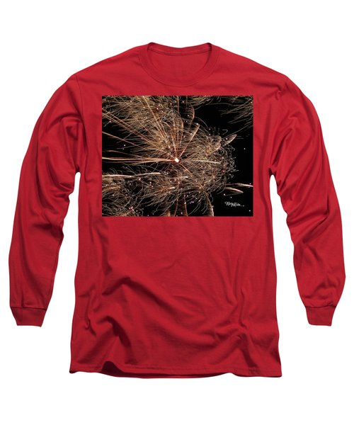 Long Sleeve T-Shirt featuring the photograph Bold Burst #0711 by Barbara Tristan