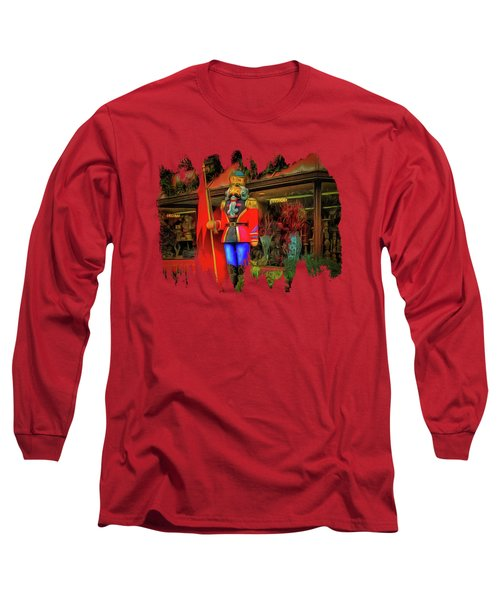 Long Sleeve T-Shirt featuring the photograph Bonjour Hello Good Day by Thom Zehrfeld