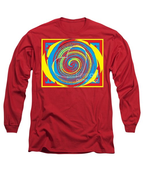 Long Sleeve T-Shirt featuring the painting Boo Hearted by Catherine Lott