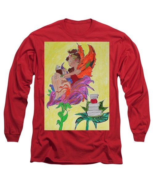 Book Fairy Long Sleeve T-Shirt