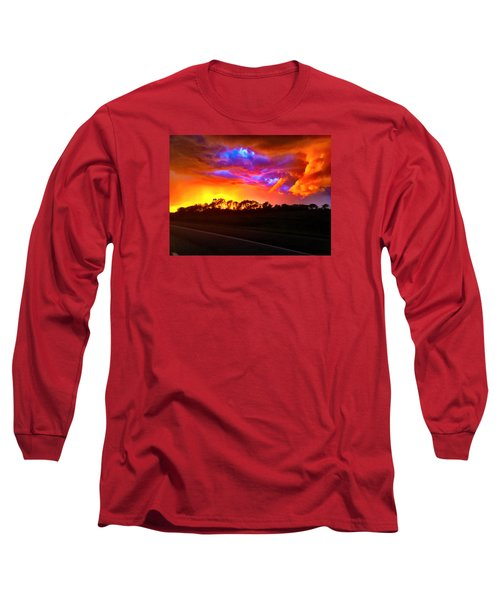 Long Sleeve T-Shirt featuring the photograph Borderline by Zafer Gurel