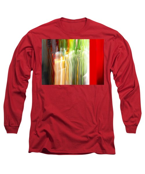 Long Sleeve T-Shirt featuring the photograph Bottle By The Window by Susan Capuano