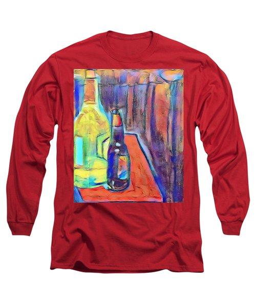Bottles-still Life  Long Sleeve T-Shirt