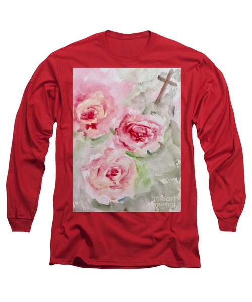 Bought With A Price Long Sleeve T-Shirt by Trilby Cole