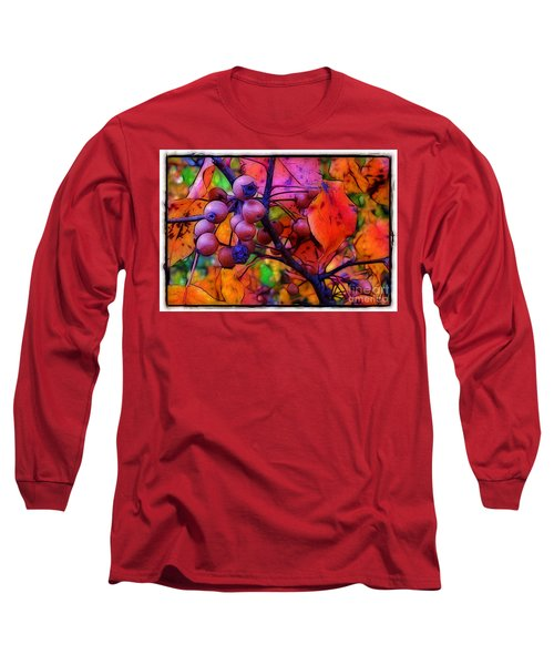 Bradford Pear In Autumn Long Sleeve T-Shirt