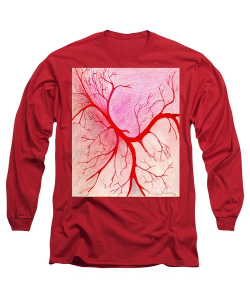 Branches Of Red Long Sleeve T-Shirt