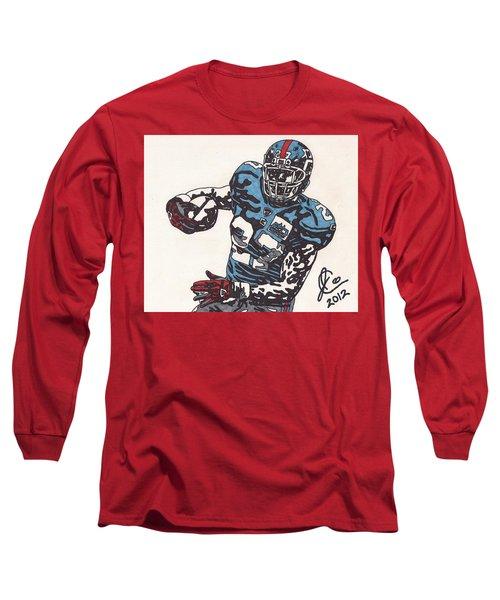 Brandon Jacobs 1 Long Sleeve T-Shirt